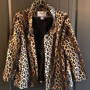 Leopard print Shrug / Cardigan / Jacket